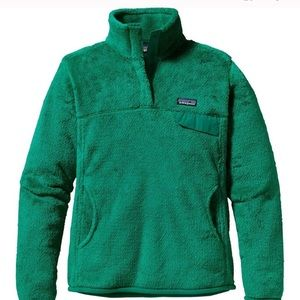 Green Patagonia Women's Fleece